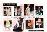 Trend Watch: Handbags off the Runway