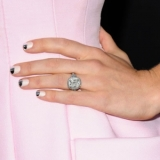 Jessica Biel's Matching Manicure & Shoes